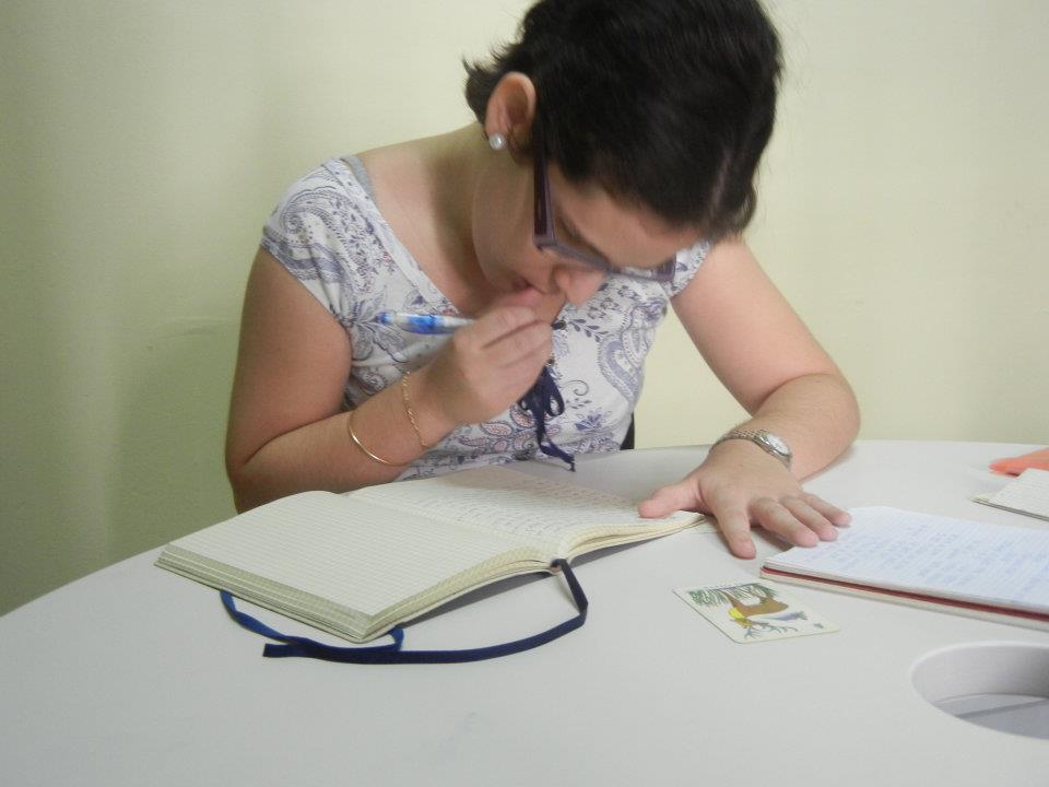 l'escriptora
