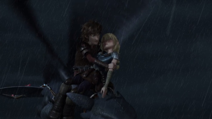Hiccup_holding_Astrid