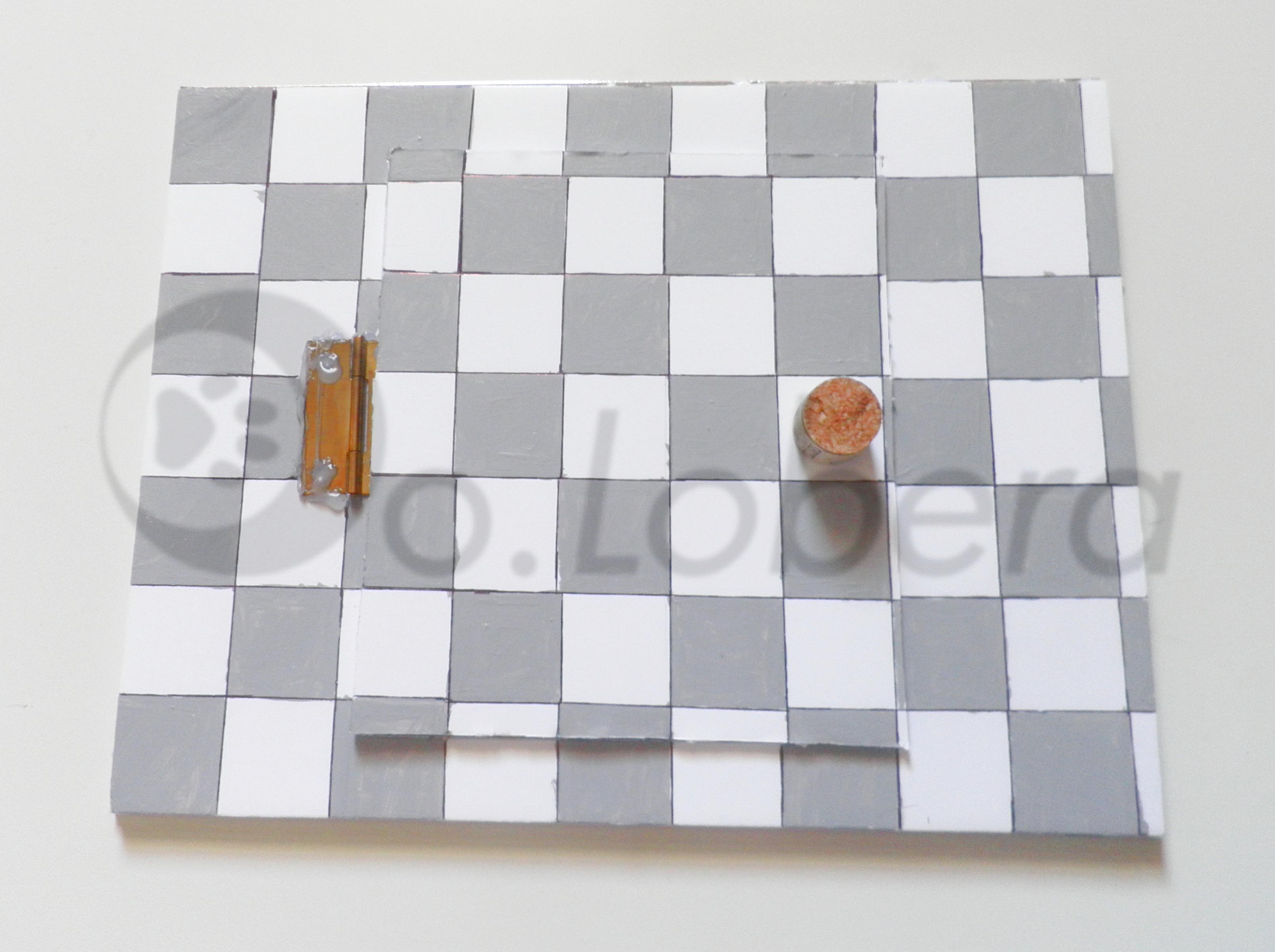Plafón-espejo cerrado