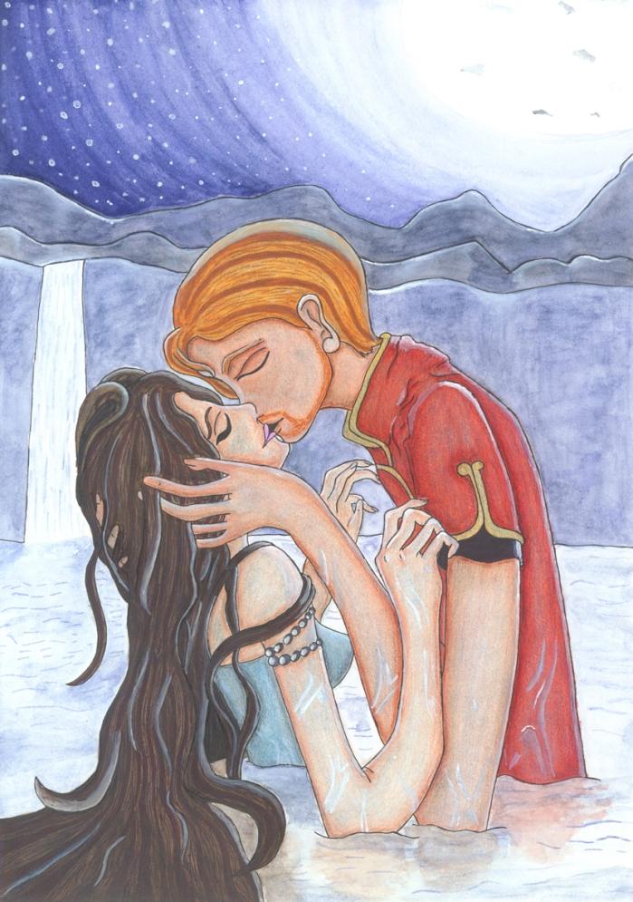 Beso bajo Cygna