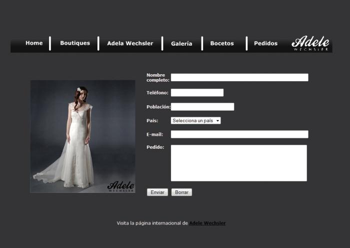 web de ejemplo