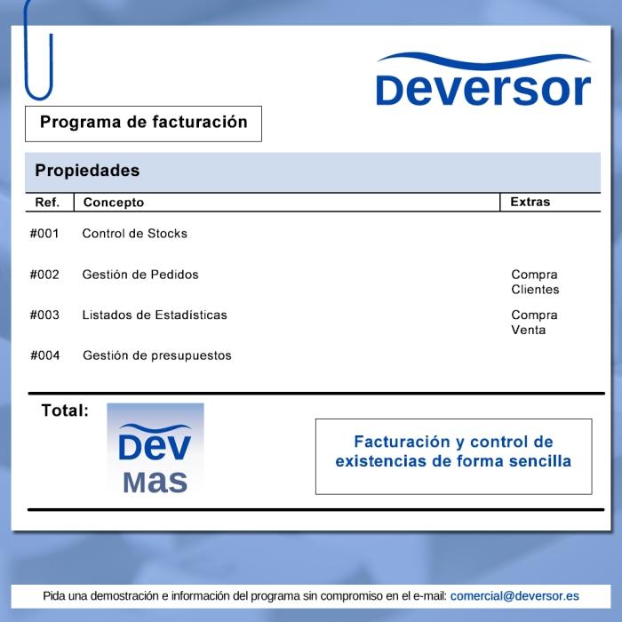 DevMAS - Facturación Mailing