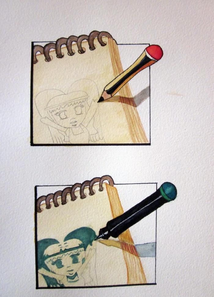 Pasos - Dibujar y rotular