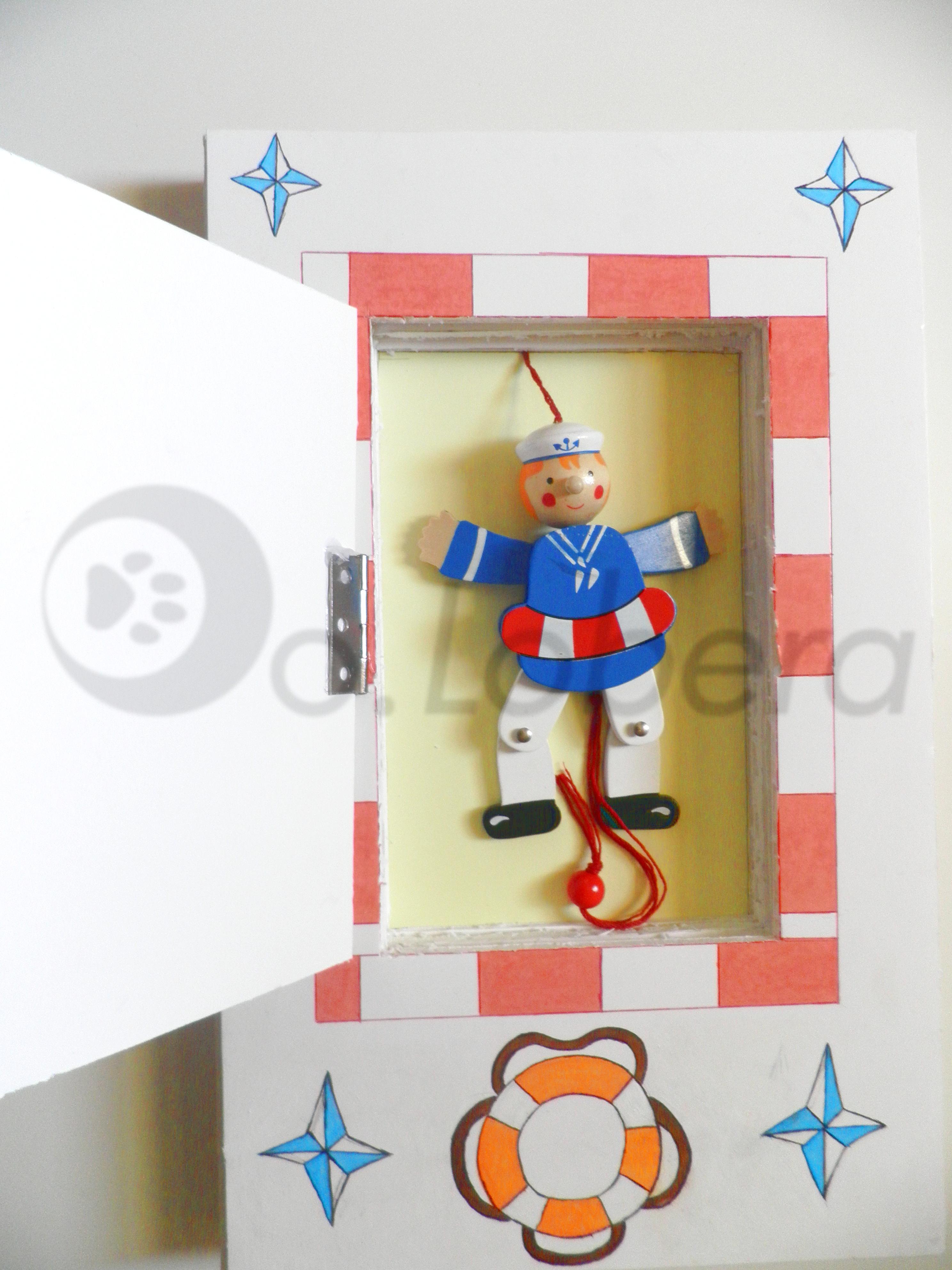 Plafón-Marioneta abierto
