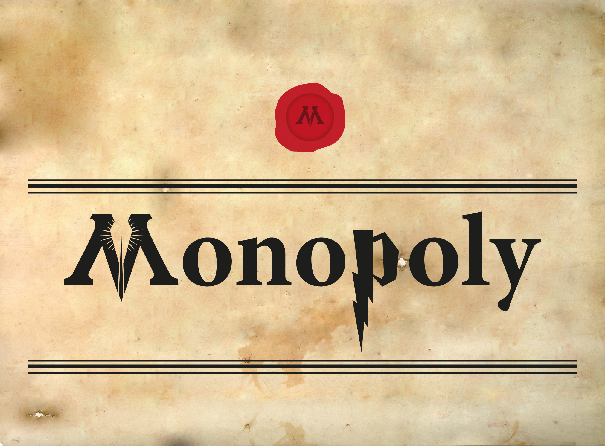 Monopoly Harry Potter - Caja