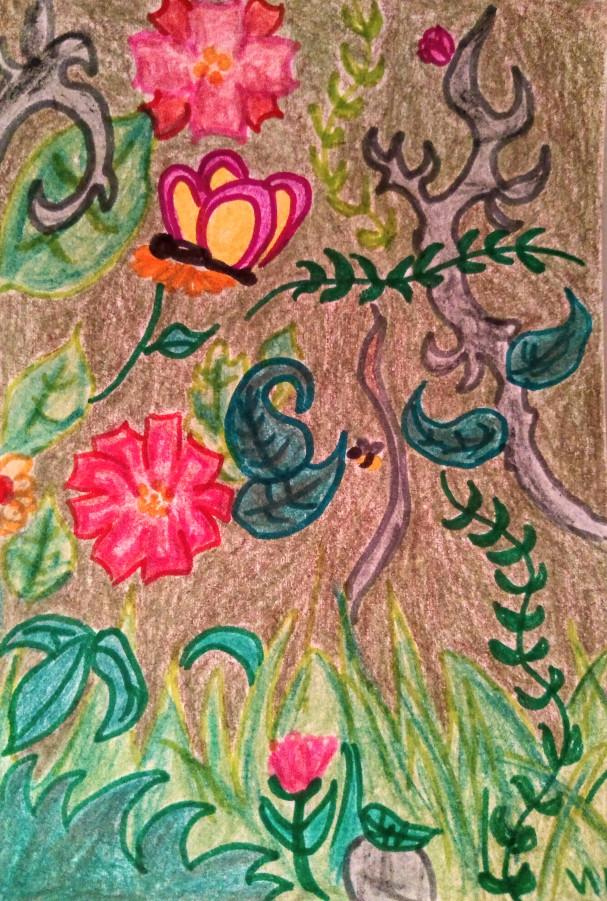 Ilustración de primavera