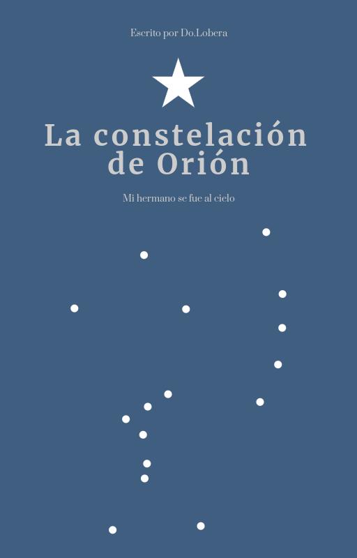 Portada cuento la constelación de Orión by Do.Lobera