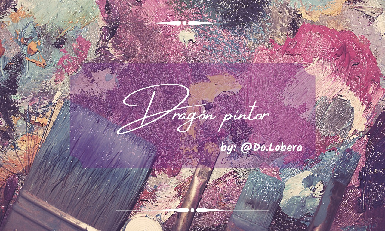 Dragón pintor