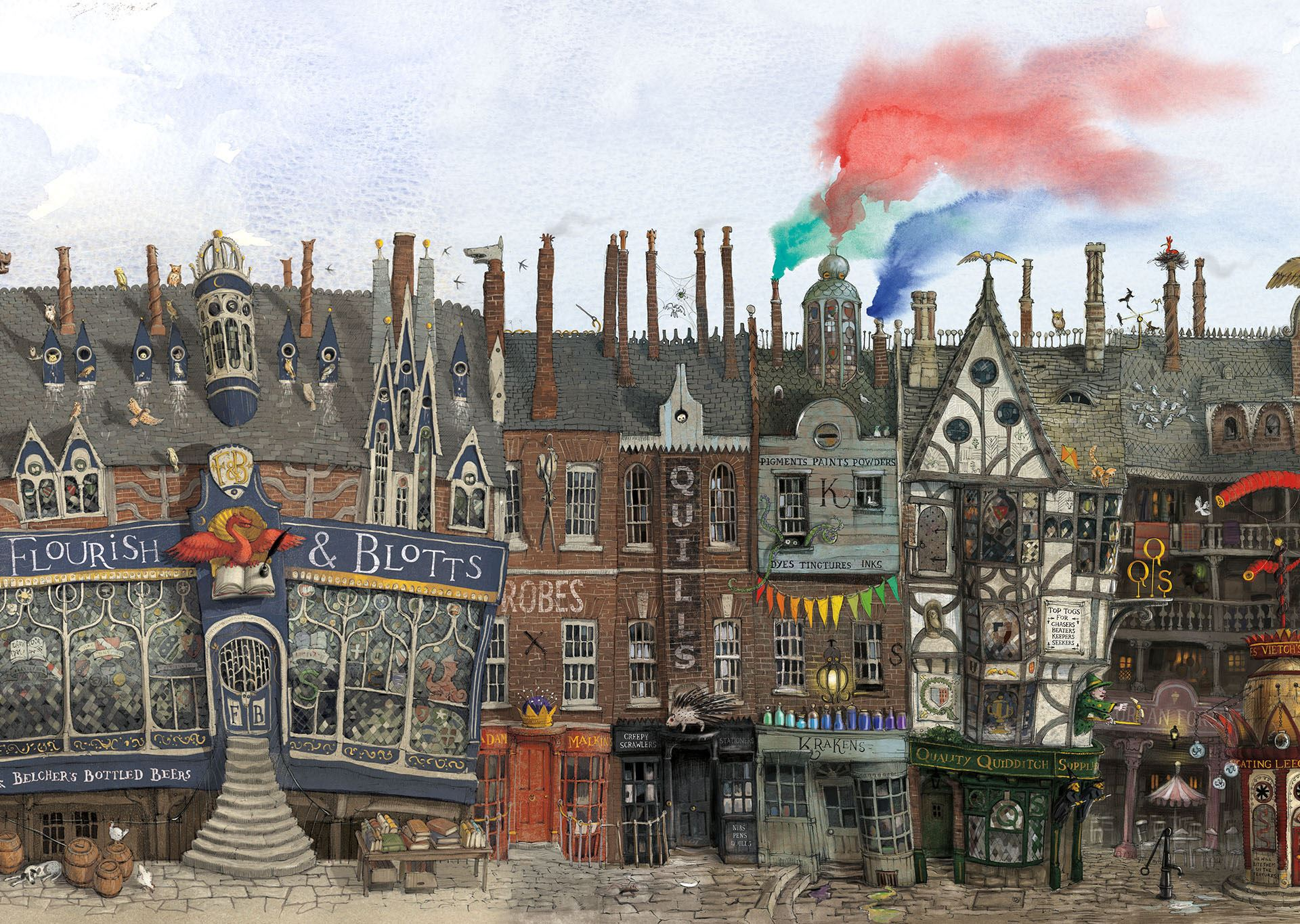 Diagon Alley - Harry Potter Night