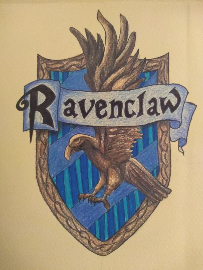 Escudo casa Ravenclaw - Hogwarts