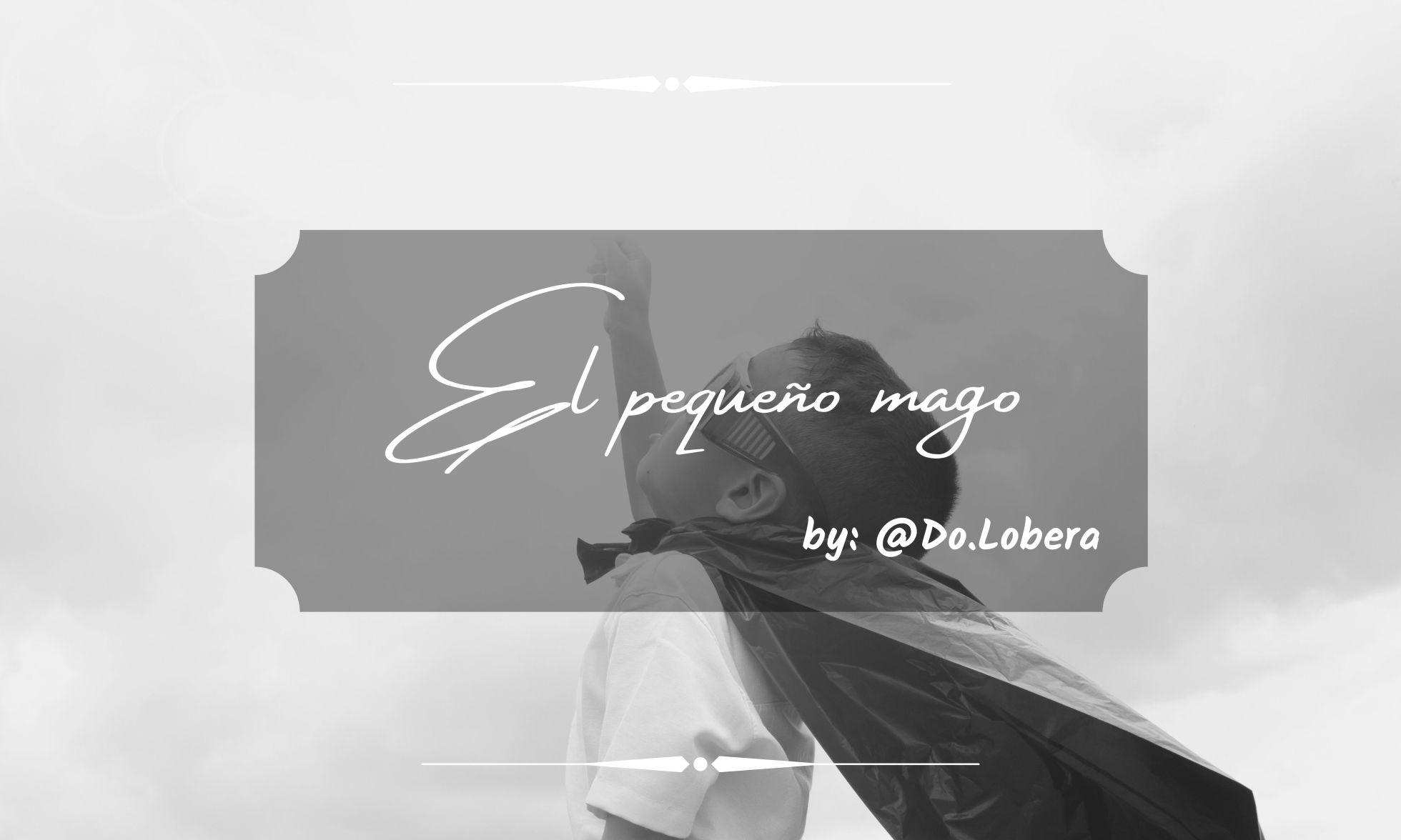 El pequeño mago - by Do.lobera