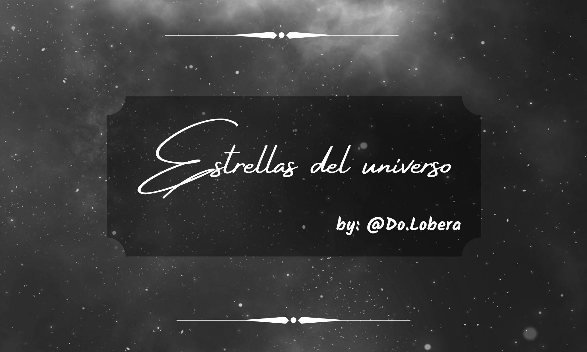 Estrellas del universo - by do.lobera