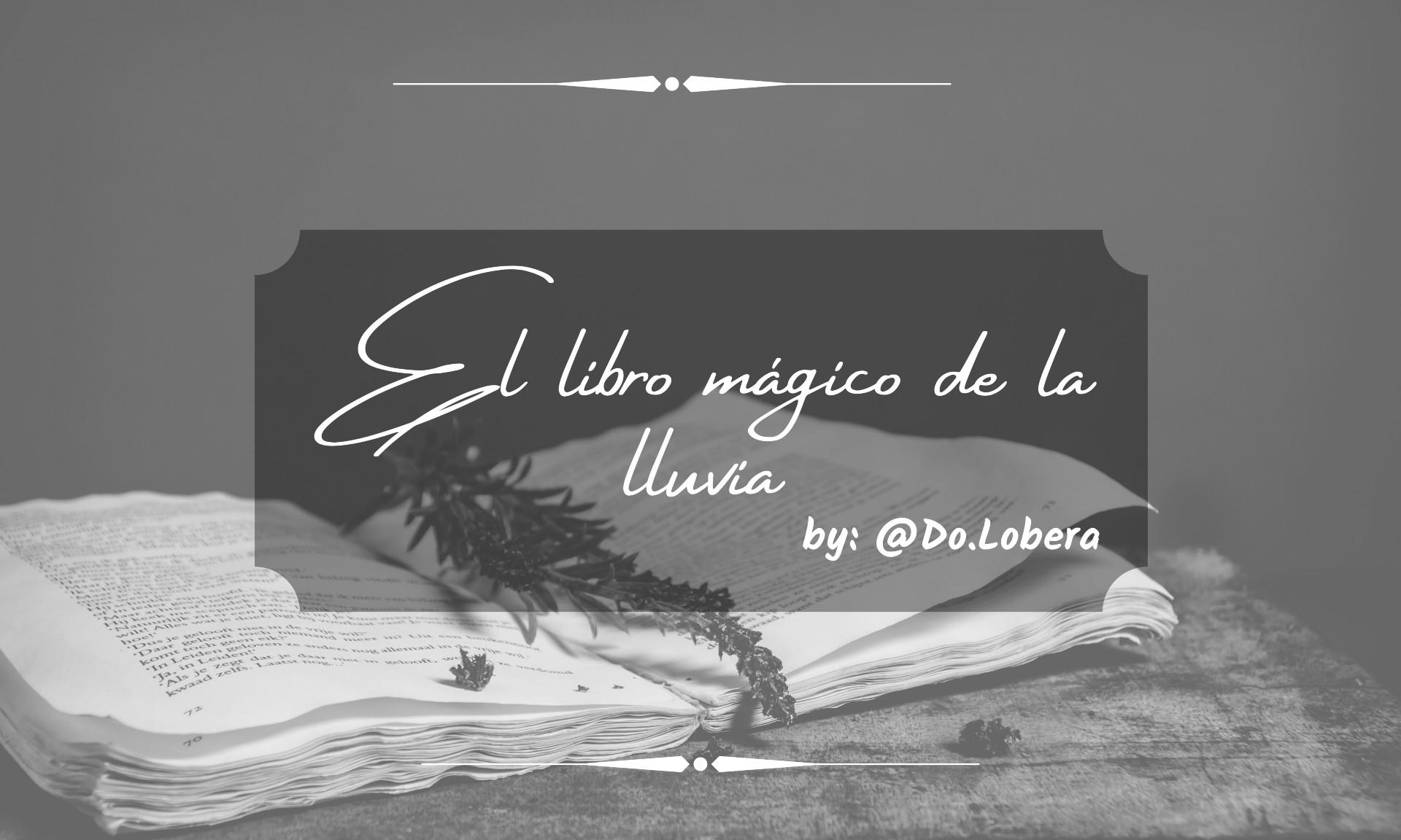 El libro mágico de la lluvia - by do.lobera